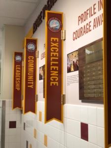 Custom signs Portsmouth NH High School